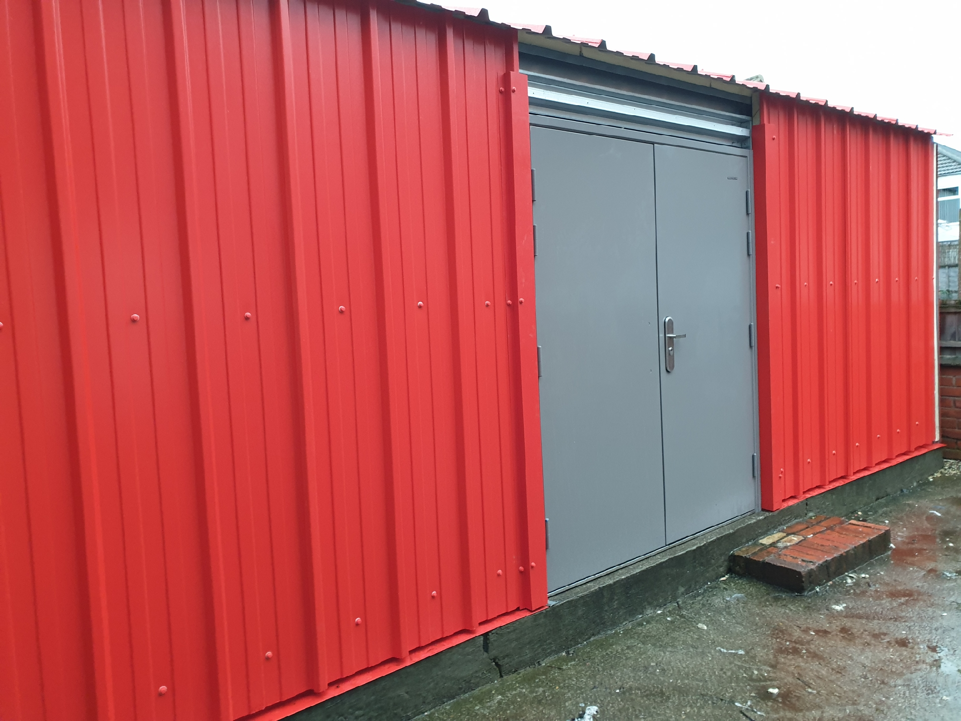 The shed is finished