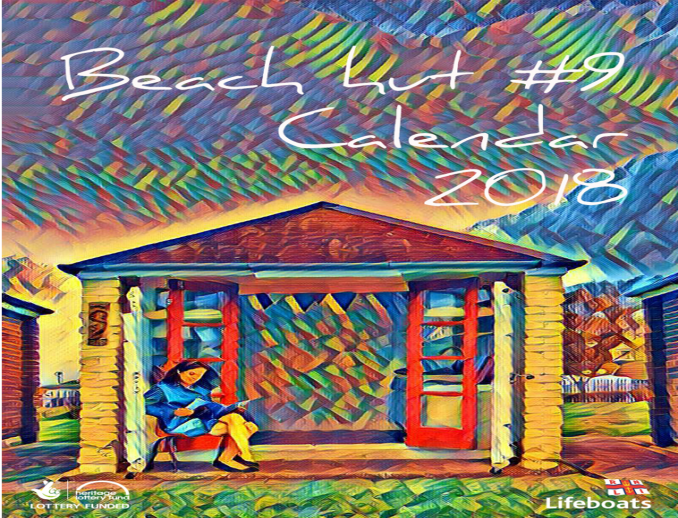 Beach Hut No 9 launched a fundraising Calendar for 2018. Profits from the sales of the calendar went to RNLI Cleethorpes.