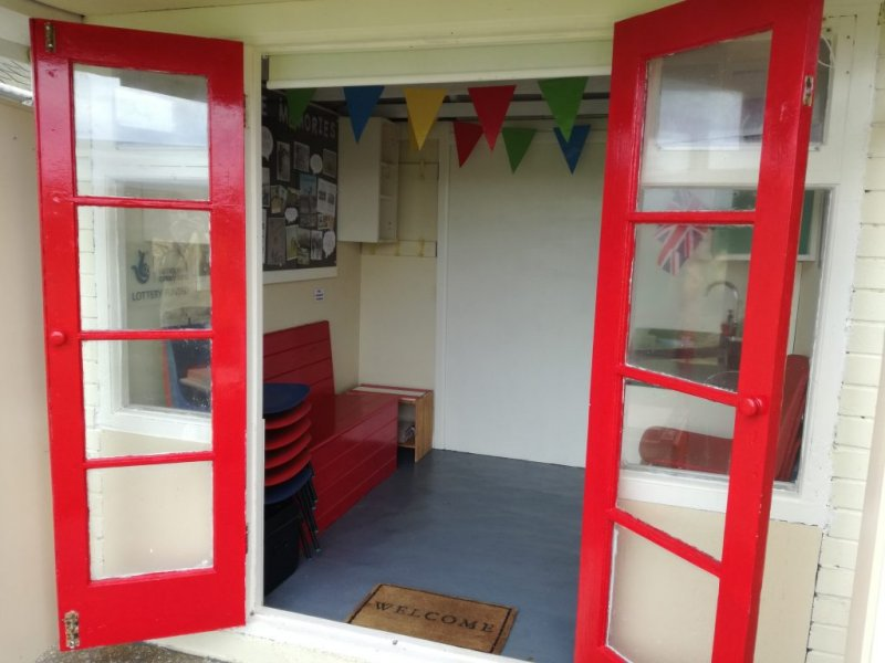 Beach hut #9 officially opened on 16th September 2016, and has been refurbished for the use of disadvantaged people, schools, community groups and organisations, and is free to use.