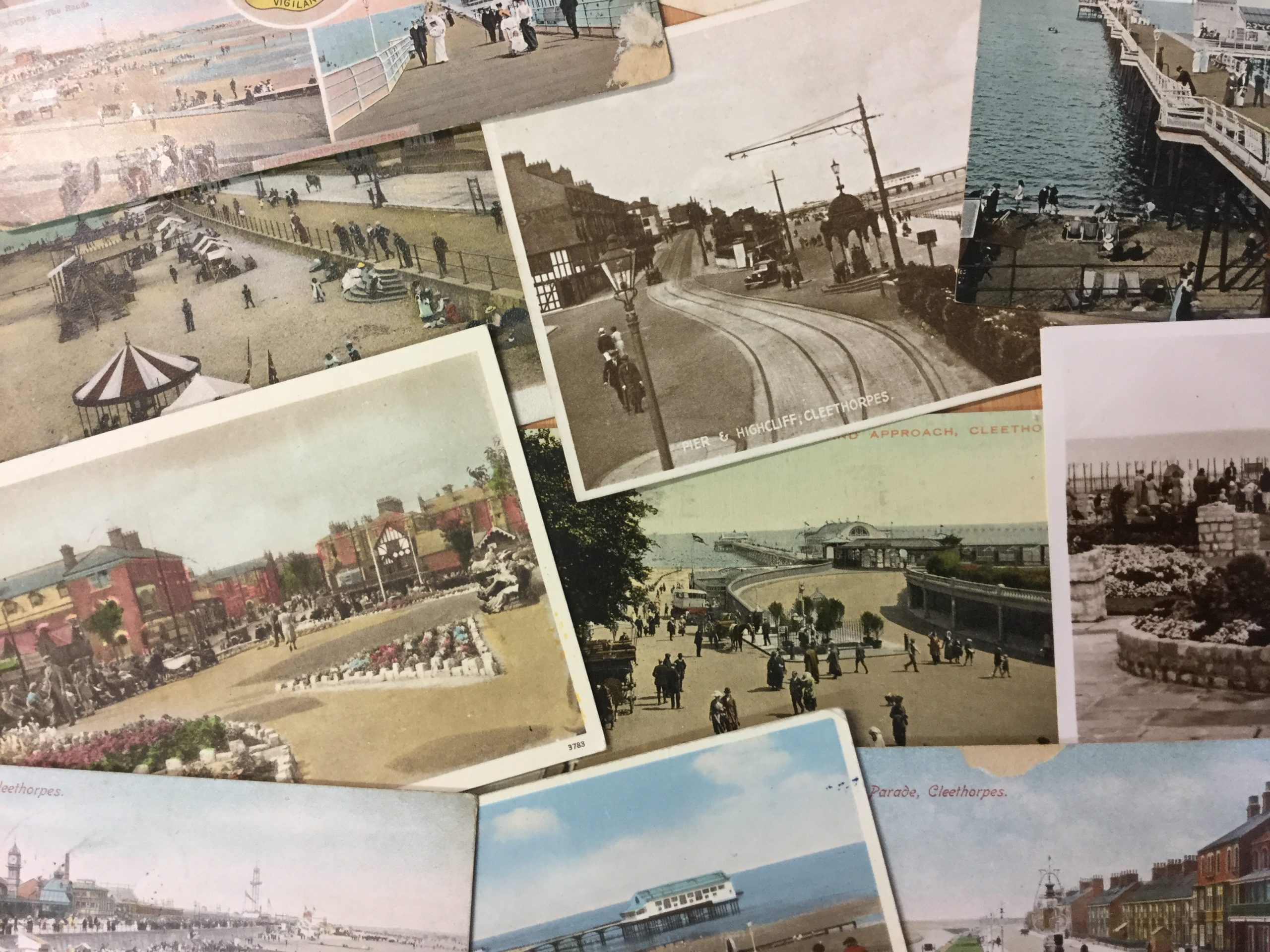 The project focused on the history of local seaside holidays from Victorian times to the present day.